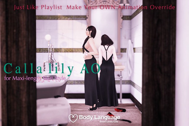 Calla lily AO Poster