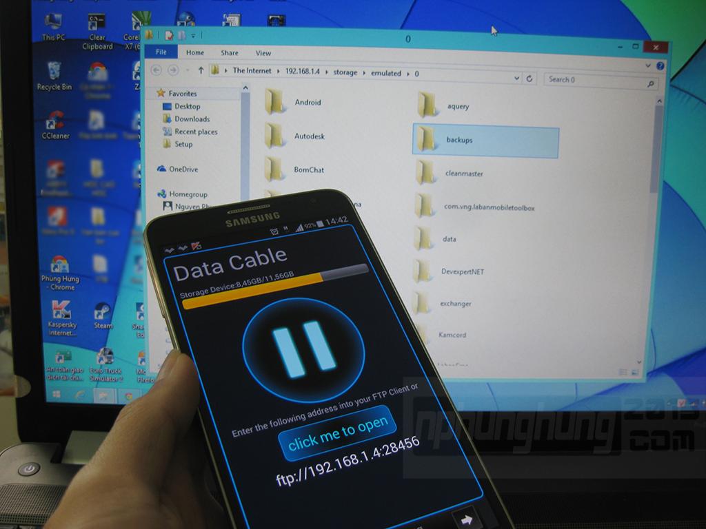 Tính năng Data Cable