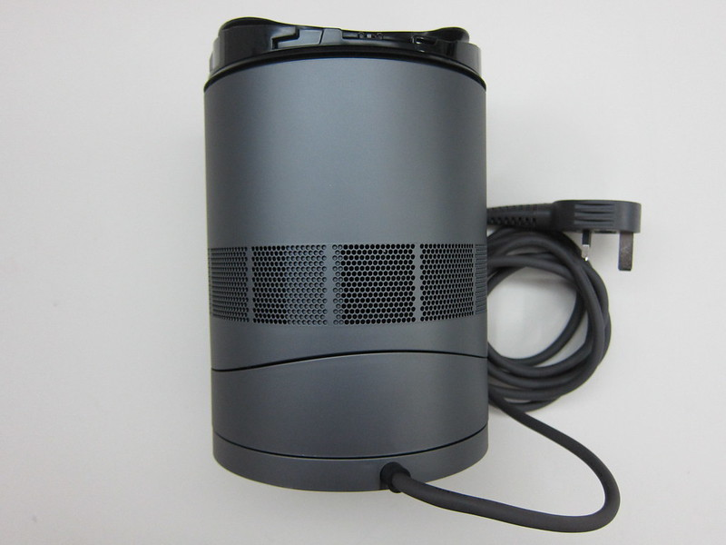 Dyson AM06 Desk Fan 25cm (Iron & Blue) - Base Back