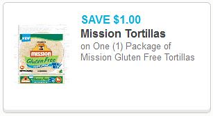 picture about Gluten Free Coupons Printable identify $1/1 Mission Gluten No cost Tortillas Printable Coupon + Additional