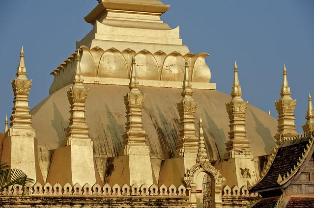 LAO098 Pha That Luang - Vientiane 02 - Laos