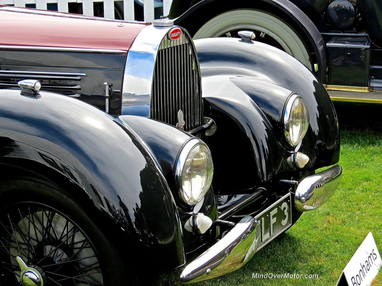 1938 Bugatti Type 57 Stelvio Head Lights