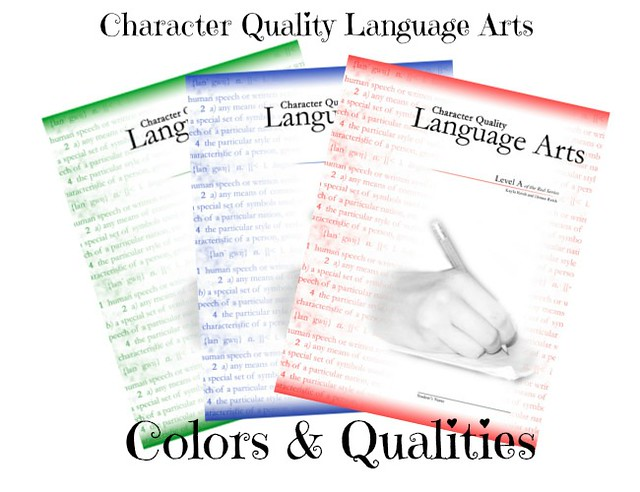 CQLA Colors & Character Qualities by Character Ink!