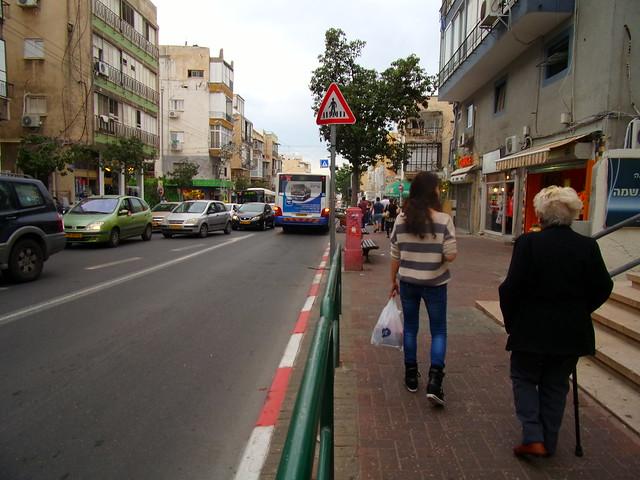 Strolling down Ben Yehuda