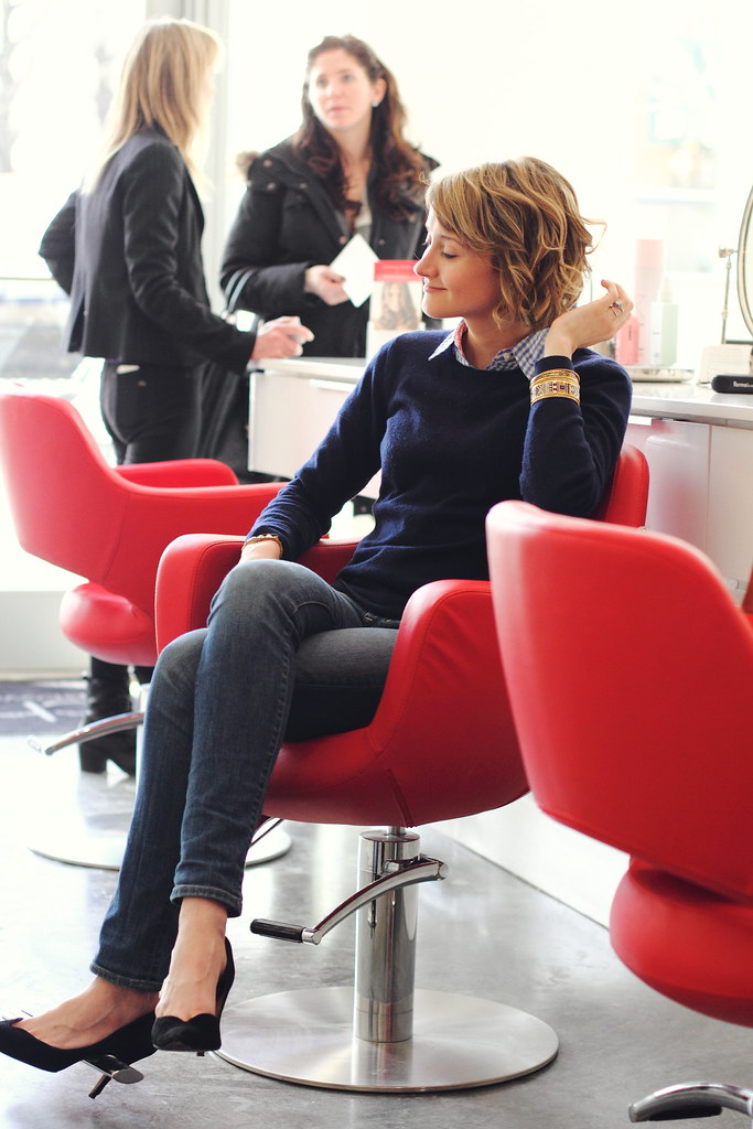 an afternoon at Cherry Blow Dry Bar