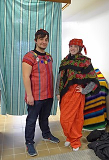 Students dress up for 2015 WSC Spanish Club Carnaval party