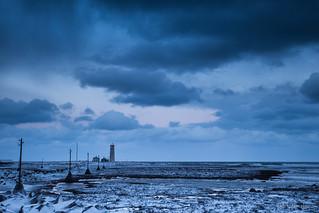 Late sunrise at Seltjarnarnes