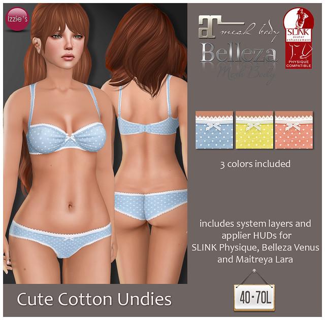 TDRF (Cute Cotton Undies)