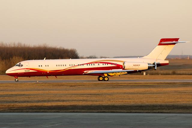 Fotók Ferihegyről 2015.03.03. - Sunrider Corporation MD-87