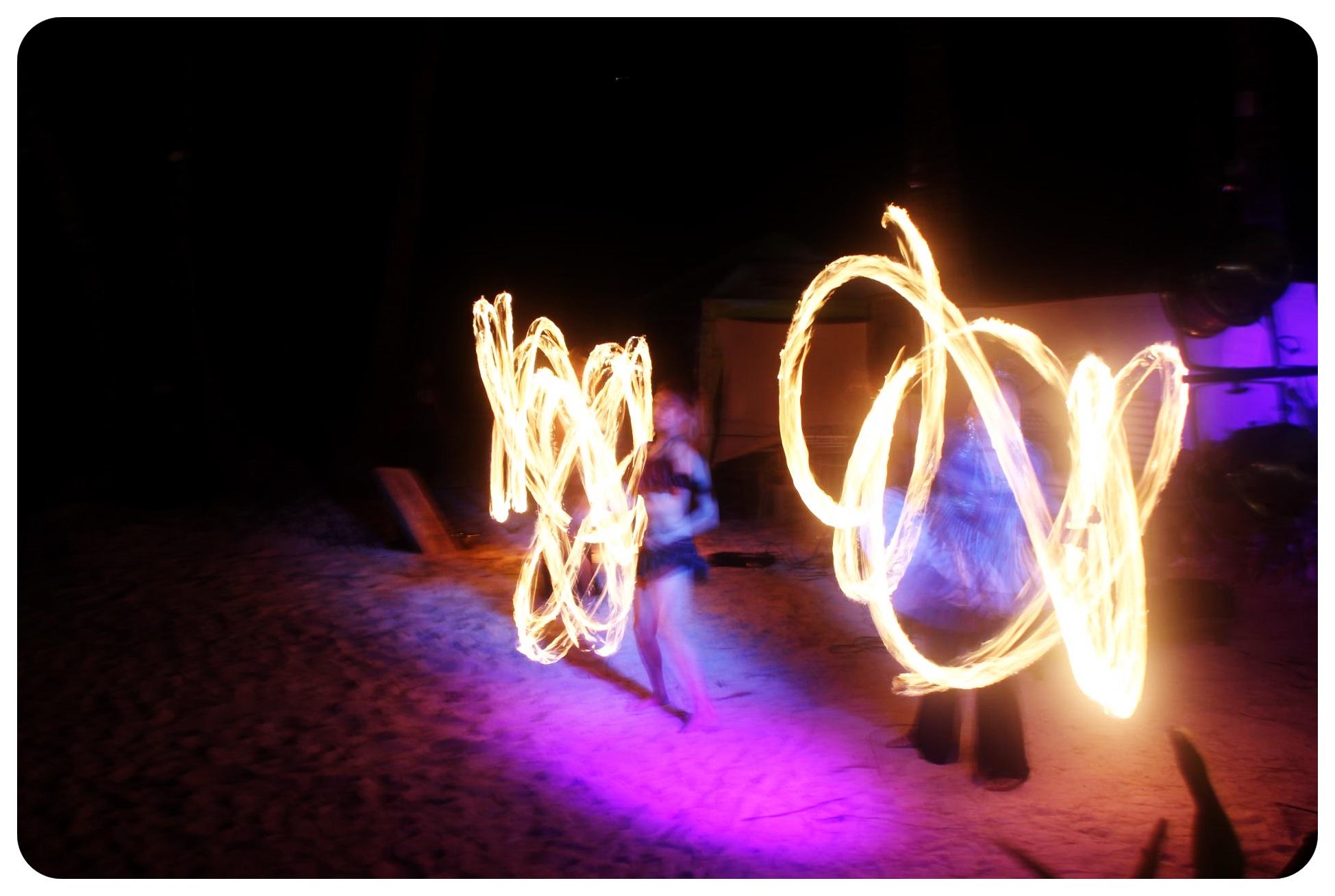 boracay fire dancers