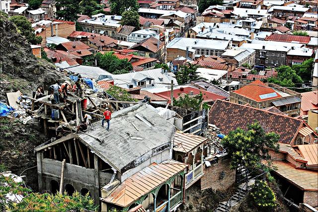 Dächer von Tbilisi