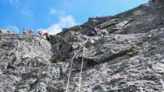 Wspinanie w Tatrach - Gerlach drogą Prerovska Cesta 08-2016