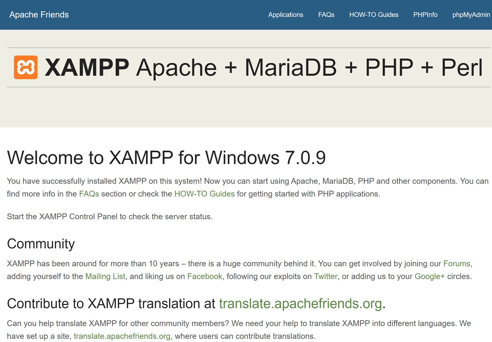 Setup XAMPP with http2/SSL on localhost