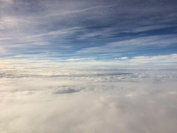161009 機内の風景