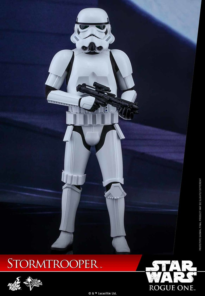Hot Toys - MMS393 - 《星際大戰外傳:俠盜一號》1/6 比例 帝國風暴兵(俠盜一號Ver.) Stormtrooper
