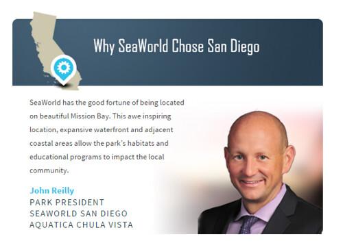 Why Sea World Chose San Diego