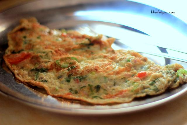 Nepal Food Masala Omelet