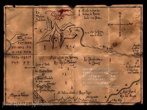 El mapa de Thror