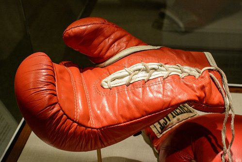 Joe Frazier's Boxing Gloves