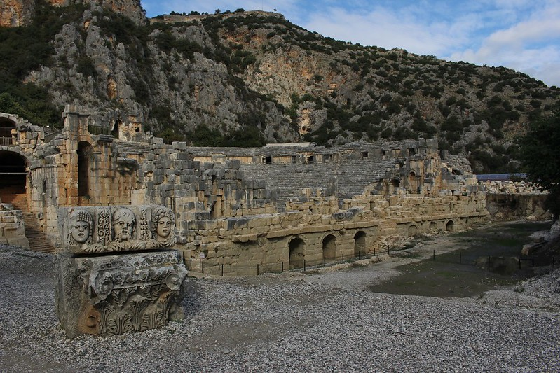 Myra theater, Turkey