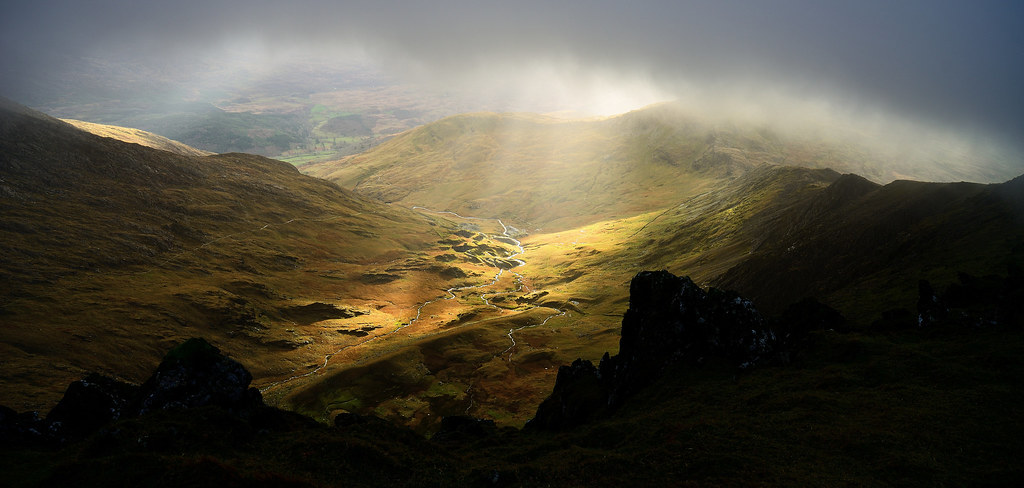 Snowdonia - Splash of light