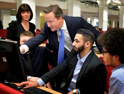 PM visit Covea Insurance Halifax