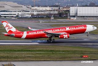 AirAsia X A330-343 msn 1589