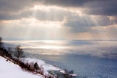 Lake Michigan Bluff Rays