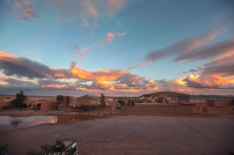 View from Hotel La Kasbah