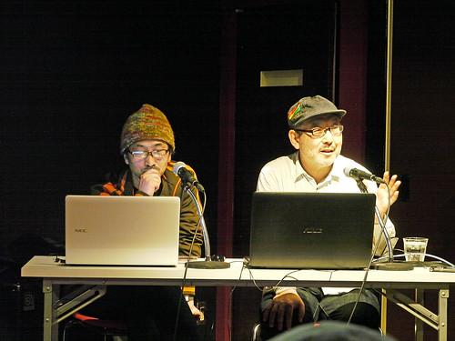 石田昌隆さん(右)、松山晋也さん(左)