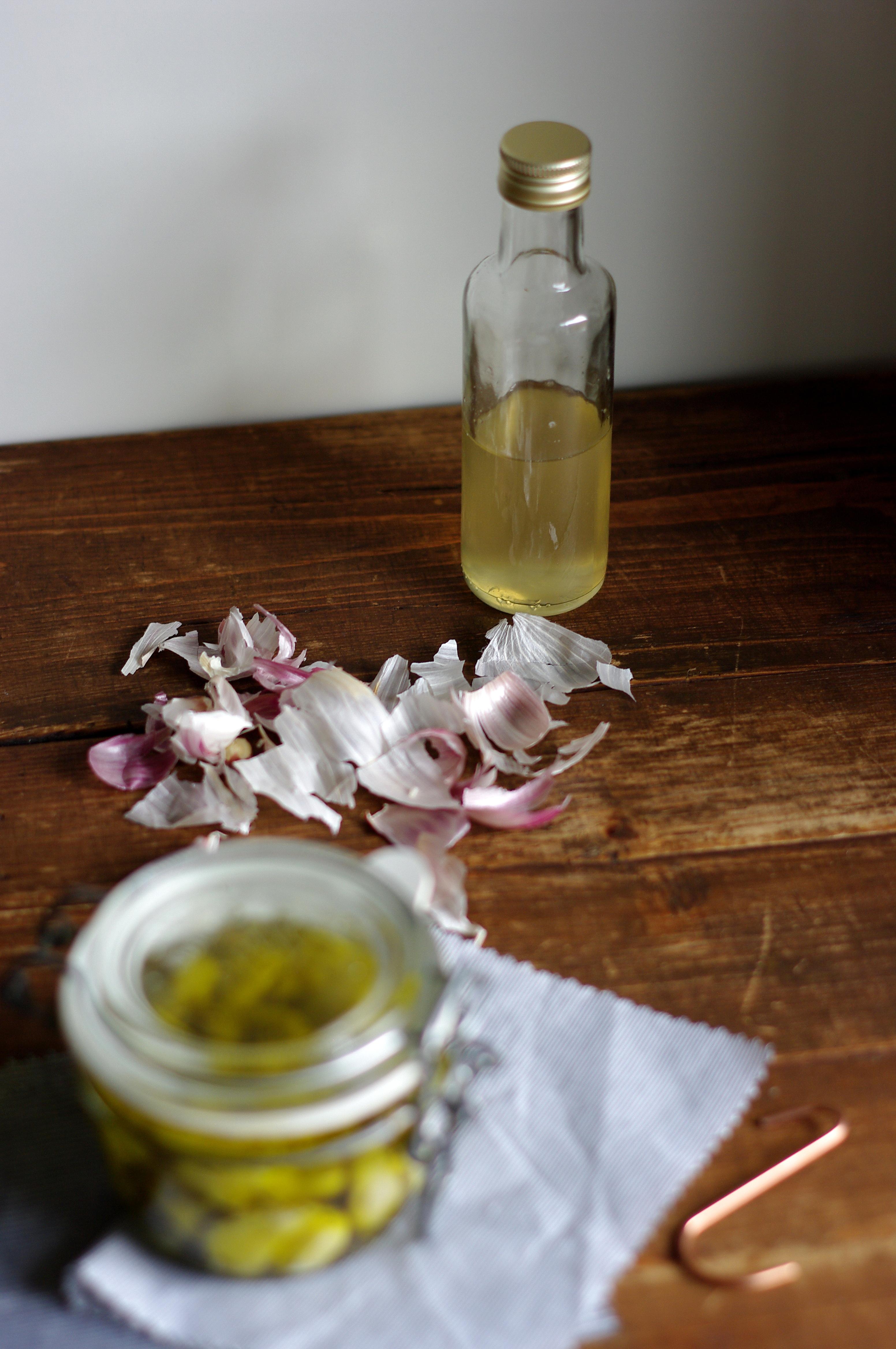 Knoblauch in Olivenöl by Glasgeflüster 5 groß