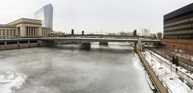 Frozen Schuylkill
