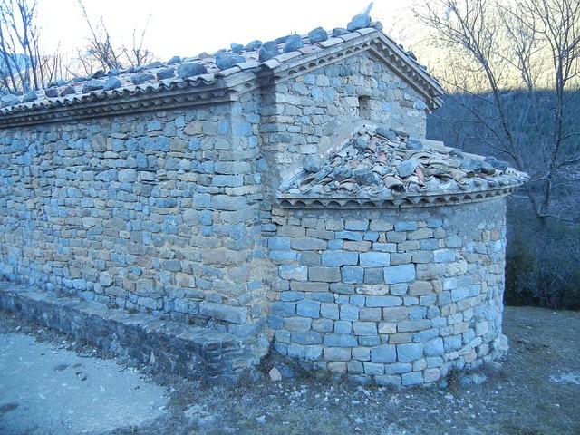Romanesque chapel near Baga, CAtalonia