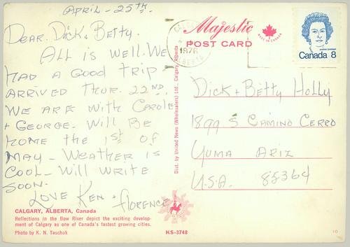 Postdard from Toronto