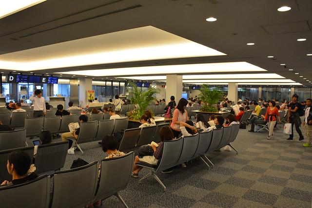 成田機場國內線候機室