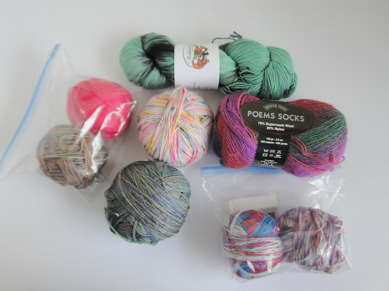 personal mystery sock yarn club