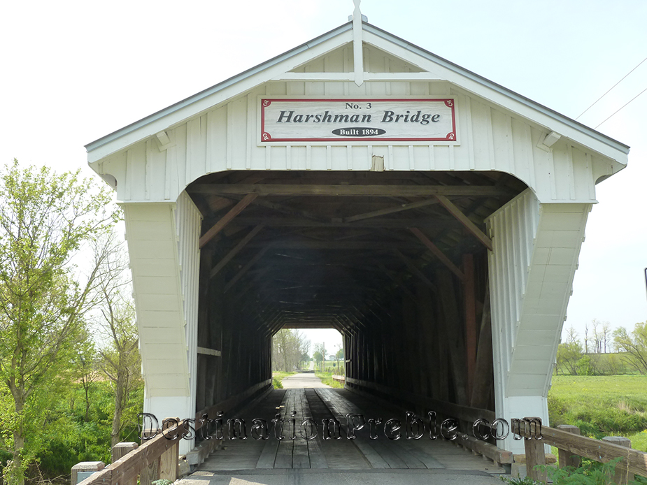 Harshaman Bridge - Preble County Ohio