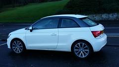 automobile, wheel, vehicle, automotive design, city car, compact car, bumper, audi a1, land vehicle, hatchback,