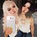 twin selfie
