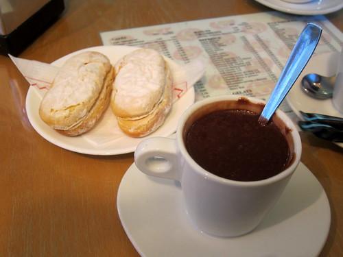 Xocolata amb Melindros