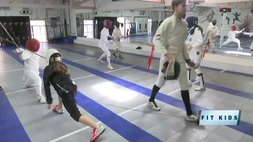 NYFA on NY1: Fit Kids Fencing