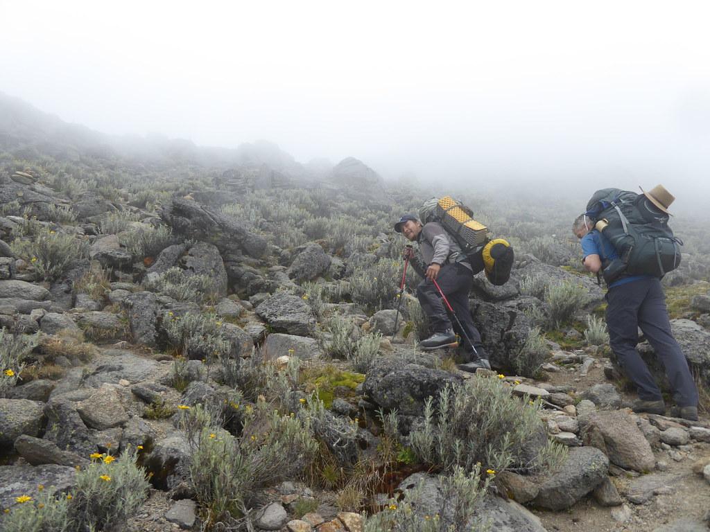 Ascending Itzaccihuatl