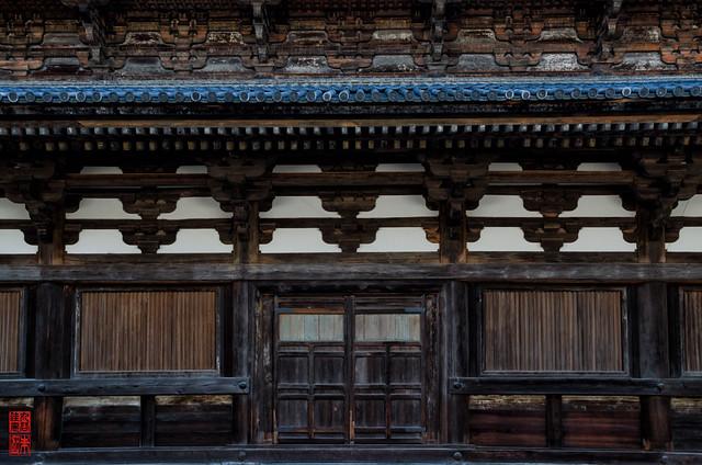 「木構造 - 金堂」 東寺 - 京都