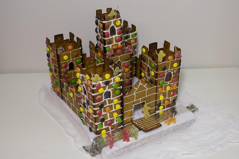 Gingerbread Castle2014