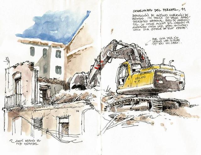 Málaga, Callejones del Perchel