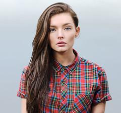 pattern(1.0), neck(1.0), hairstyle(1.0), textile(1.0), model(1.0), clothing(1.0), sleeve(1.0), maroon(1.0), outerwear(1.0), hair(1.0), fashion(1.0), photo shoot(1.0), long hair(1.0), brown hair(1.0), design(1.0), tartan(1.0), plaid(1.0),