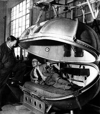 Cámara de presión diseñada para Winston Churchill