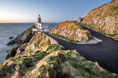 longexposure travel ireland sea sky dublin cliff lighthouse seascape motion lines clouds composition sunrise landscape photography photo europe sony portfolio onsale ultrawide leading konicaminolta1735 sonya7