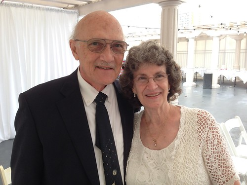 Mom and Dad at my cousin's wedding