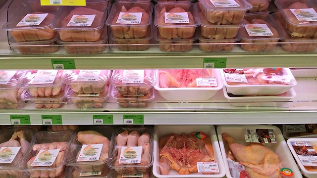 Kana Luxemburgilaisessa kaupassa